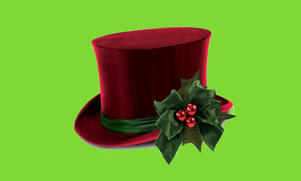 Scrooge's top hat